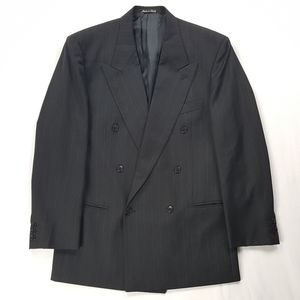 Made in Italy Mani Armani Double Breasted Blazer